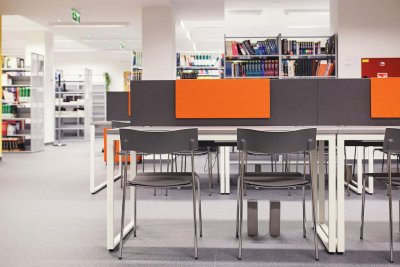 Atypical furniture solutions for the Faculty of Biomedical Engineering, CTU in Kladno