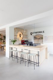 A coworking center in which it is a pleasure to work