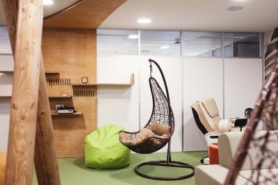 How do you create a relaxation zone for your employees?