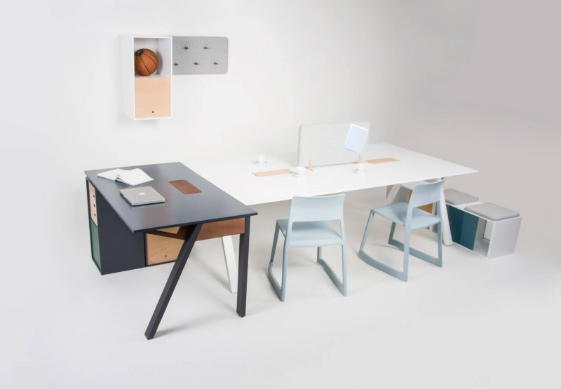 Furniture for offices and workplaces